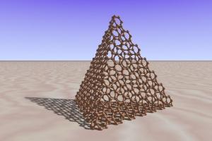 graphene-tetrahedron
